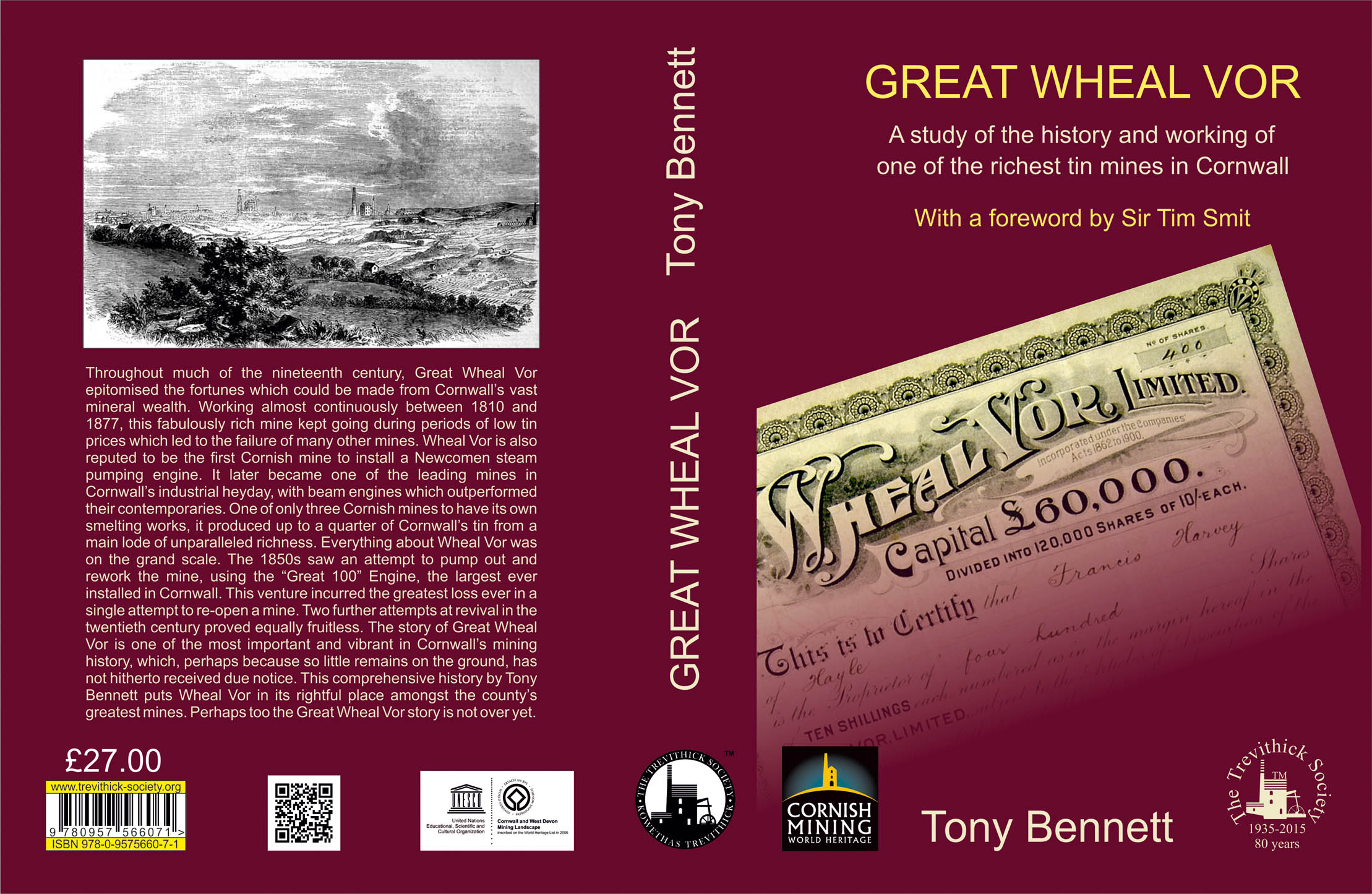 Great Wheal Vor (Hardback)