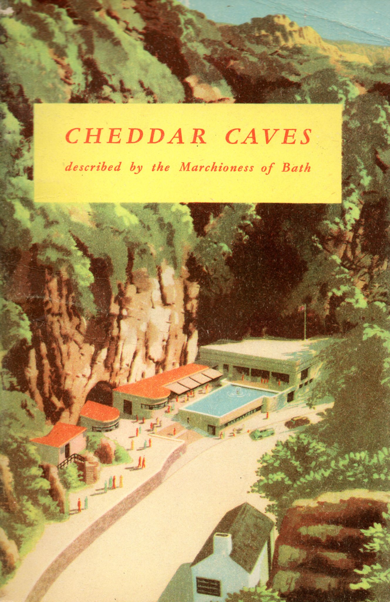 [USED] Cheddar Caves - described by the Machioness of Bath