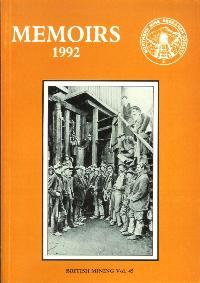 [USED] British Mining No 45 - Memoirs 1992