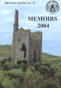 British Mining No 75 - Memoirs 2004 reduced price