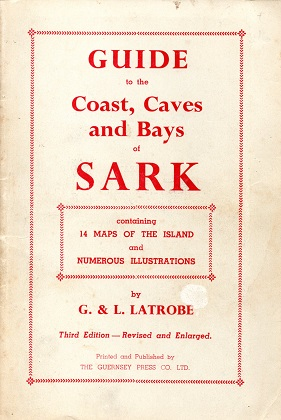 [USED] Guide to  the Coast, Caves and Bays of Sark