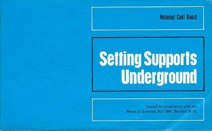 [USED] Setting Supports Underground