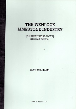[USED] The Wenlock Limestone Industry  - An Historical Note