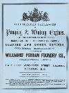 [USED} Illustrated catalogue of Pumping and Winding Engines, Williams' Perran Foundry Co, Perranport,  Cornwall