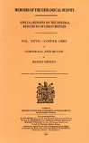 [USED] Memoirs Geological Survey XXVII - Copper Ores of Cornwall and Devon