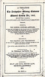 [USED] A Treatise On The Derbyshire Mining Customs And Mineral Courts Act 1852