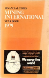 [USED] Financial Times  Mining International Year Book 1979