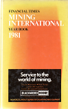 [USED] Financial Times  Mining International Year Book 1981