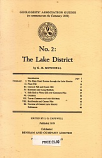[USED] Geologists' Association Guides No.2: The Lake District