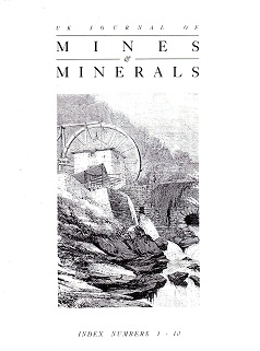 [USED] UK Journal of Mines and Minerals Index to Numbers 11-20