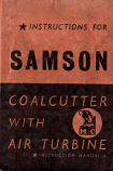 [USED] Instructions for the Samson Coalcutter with air turbine