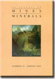 [USED] UK Journal of Mines and Minerals Issue No 15 Spring 1995