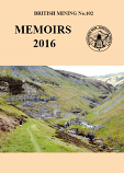 British Mining No 102 – Memoirs 2016