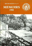 [USED] British Mining No 37 - Memoirs 1988