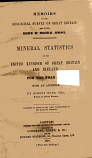 Geological Survey of Great Briitain - Mineral Statistics of the United Kingdom and Ireland for 1866