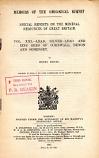 [USED] Volume  XXI Lead, Silver Lead & Zinc Ores  of Cornwall, Devon  & Somerset